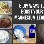 5 DIY Ways To Boost Your Magnesium Levels