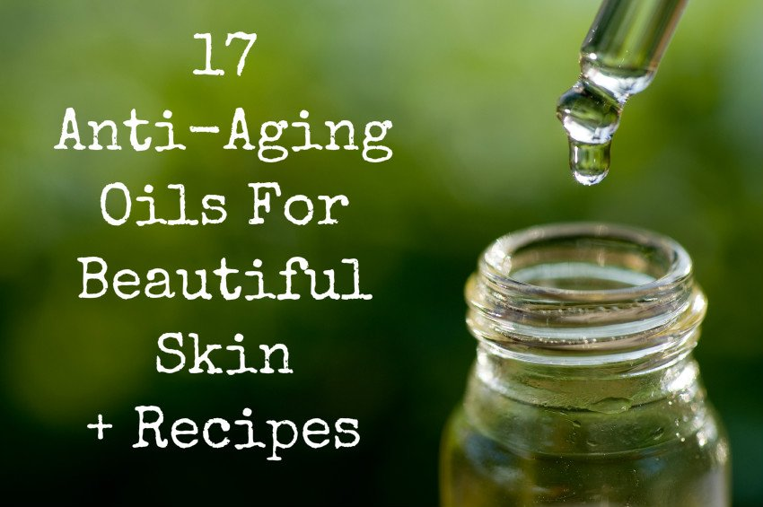Essential oils for ageing facial skin massage