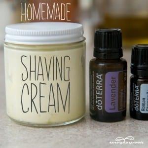Silky, Fluffy, Chemical-Free Shaving Cream