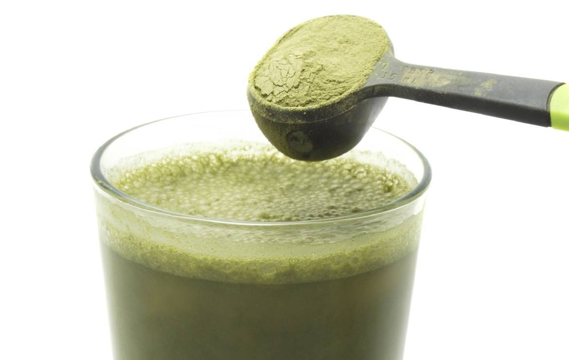 Stir This Weird Green Powder Into A Glass Of Water Amp Drink