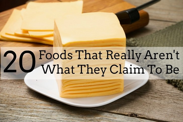 20 Foods That Really Aren't What They Claim To Be