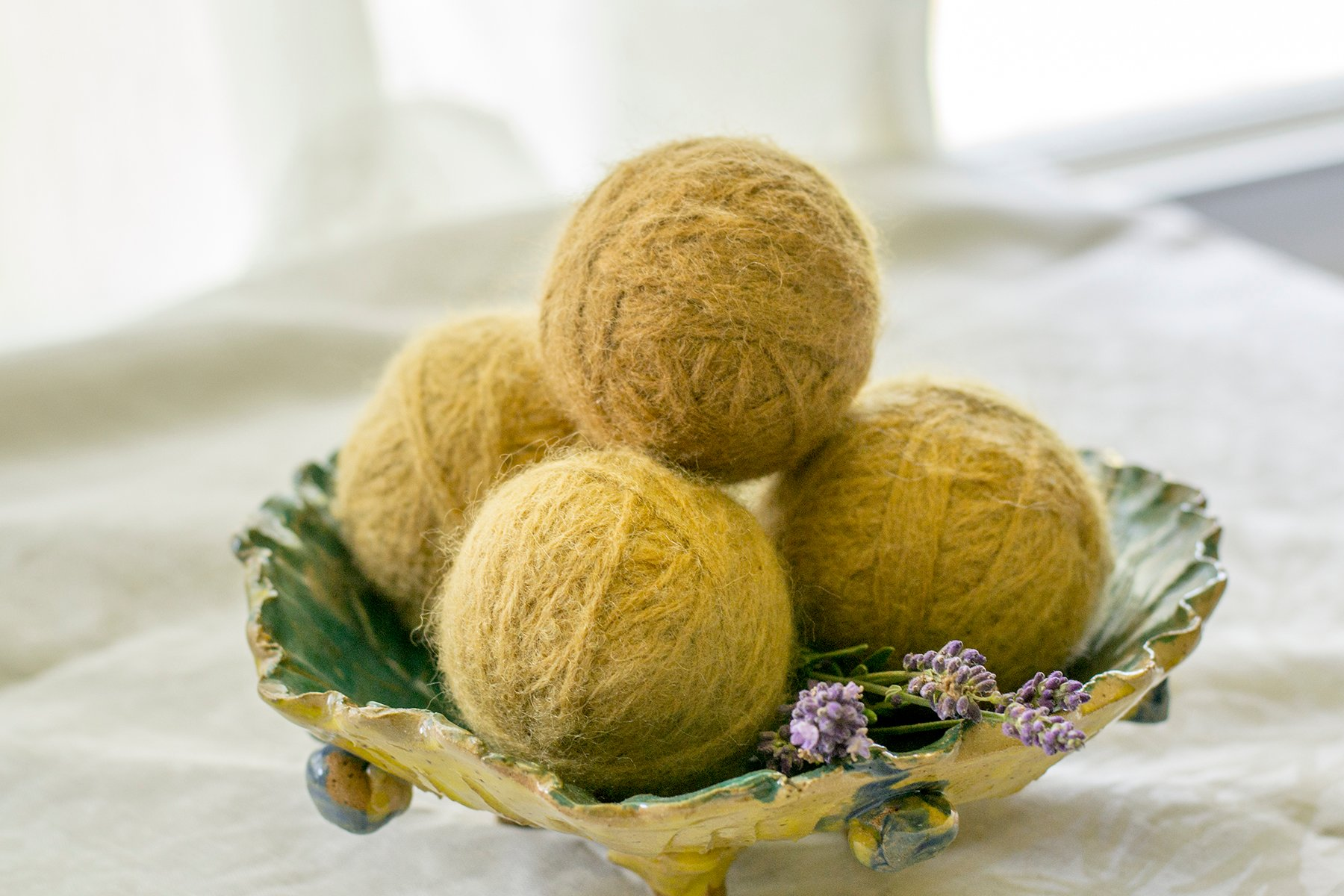 How To Make Wool Dryer Balls - So Easy & So Cheap