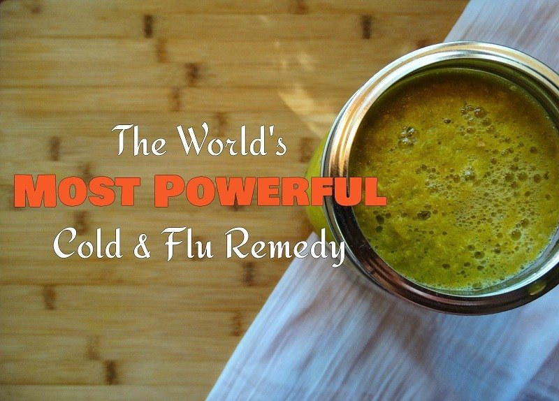 The World's Most Powerful Cold & Flu Remedy - Are You Brave Enough To Try It?