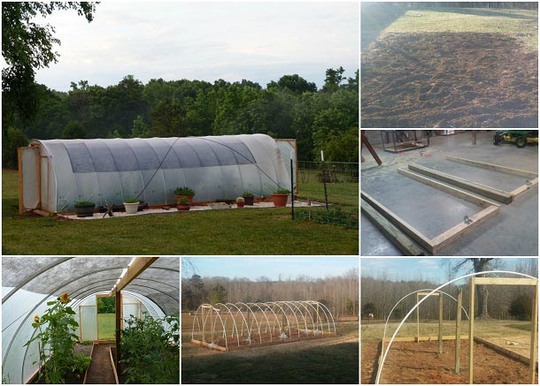 How To Build A 300 Square Foot Windproof Greenhouse For Under $500