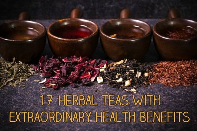 17 Herbal Teas With Extraordinary Health Benefits