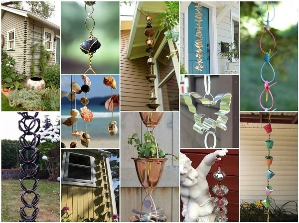 How To Make Your Own Diy Rain Chain 34 Design Ideas To