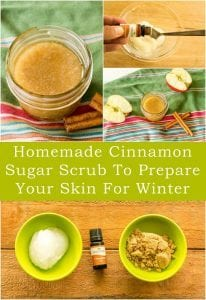 Homemade Cinnamon Sugar Scrub To Prepare Your Skin For Winter