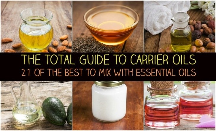 Carrier Oils: 21 Of The Best For Skin, Hair & To Mix With Essential Oils
