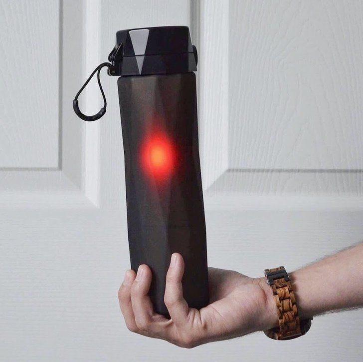 Glowing Water Bottle