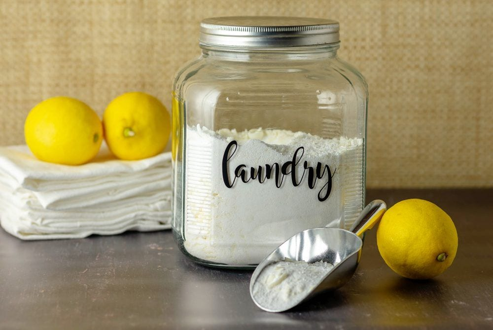 How To Make Natural Laundry Detergent In Two Minutes