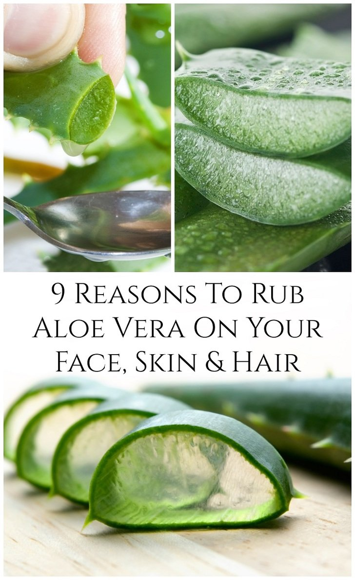 Whether you extract the gel yourself or buy ready made Aloe vera gel, here\'s why you should rub it into your face, skin, hair and more.